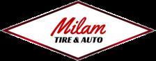Milam tire logo